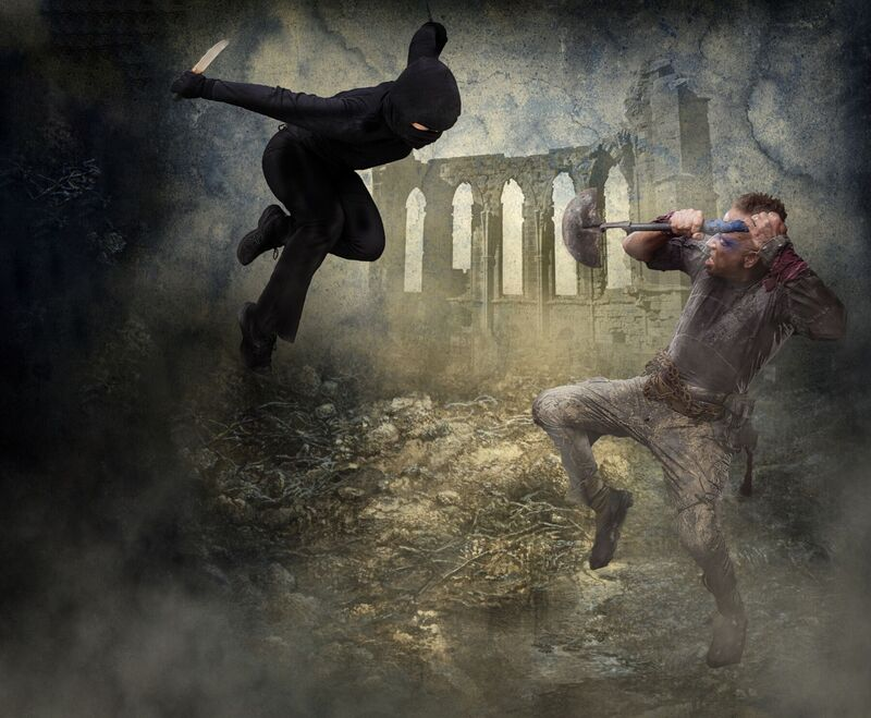 <strong>Cave fighting</strong>