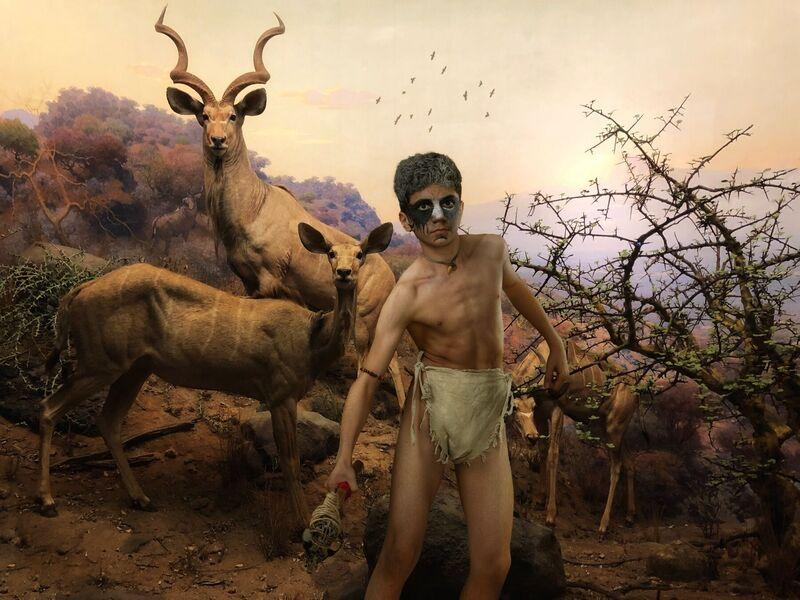 <strong>the gazelle boy</strong>
